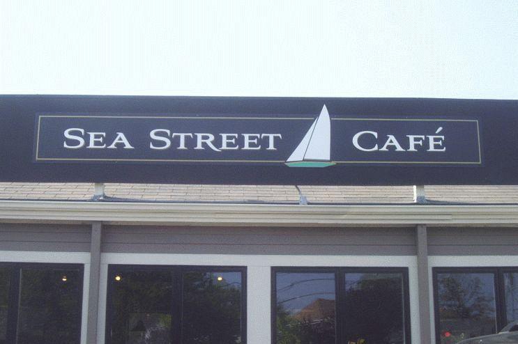 Sea Street Cafe Menu Hyannis Ma